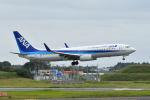 ポン太さんが、成田国際空港で撮影した全日空 737-881の航空フォト(写真)