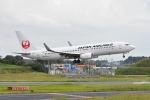 ポン太さんが、成田国際空港で撮影した日本航空 737-846の航空フォト(写真)