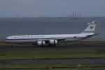トマトさんが、羽田空港で撮影したクウェート政府 A340-542の航空フォト(写真)