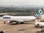 twinengineさんが、パリ オルリー空港で撮影したコルセールフライ 747-121の航空フォト(飛行機 写真・画像)