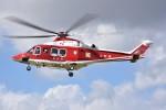 kumagorouさんが、宮城県角田市(角田中央公園)で撮影した山形県消防防災航空隊 AW139の航空フォト(写真)