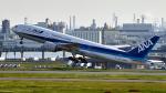 FlyingMonkeyさんが、羽田空港で撮影した全日空 777-281の航空フォト(飛行機 写真・画像)