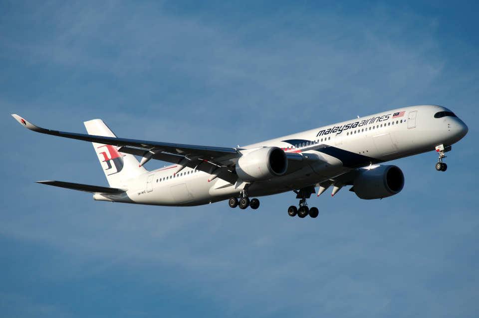 りおんさんのマレーシア航空 Airbus A350-900 (9M-MAE) 航空フォト