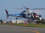 ここはどこ?さんが、札幌飛行場で撮影した中日本航空 AS355F2 Ecureuil 2の航空フォト(写真)