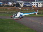 ここはどこ?さんが、札幌飛行場で撮影した中日本航空 AS350B Ecureuilの航空フォト(写真)