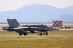 kazuchiyanさんが、岩国空港で撮影したアメリカ海軍 F/A-18C Hornetの航空フォト(写真)