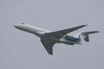 飛行機ゆうちゃんさんが、羽田空港で撮影したウィルミントン・トラスト・カンパニー BD-700 Global Express/5000/6000の航空フォト(写真)