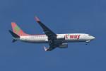 kuro2059さんが、中部国際空港で撮影したティーウェイ航空 737-86Nの航空フォト(写真)