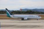 MIRAGE E.Rさんが、広島空港で撮影したシルクエア 737-8SAの航空フォト(写真)