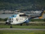 ヒコーキグモさんが、岡南飛行場で撮影した中日本航空 AS332L Super Pumaの航空フォト(写真)