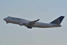 k-spotterさんが、フランクフルト国際空港で撮影したユナイテッド航空 747-422の航空フォト(飛行機 写真・画像)
