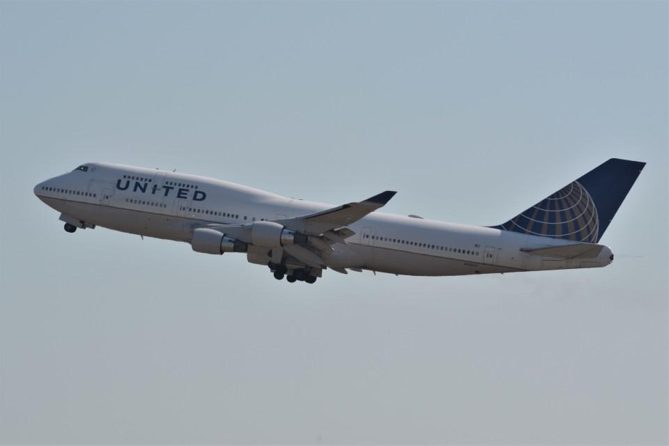 k-spotterさんのユナイテッド航空 Boeing 747-400 (N116UA) 航空フォト