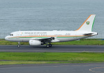 じーく。さんが、羽田空港で撮影したコートジボワール政府 A319-133X CJの航空フォト(飛行機 写真・画像)