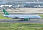 じーく。さんが、羽田空港で撮影したトルクメニスタン航空 777-22K/LRの航空フォト(写真)