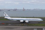 KAZFLYERさんが、羽田空港で撮影したクウェート政府 A340-542の航空フォト(写真)