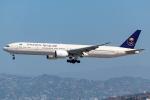 Tomo-Papaさんが、ロサンゼルス国際空港で撮影したサウディア 777-368/ERの航空フォト(写真)