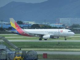 ヒロリンさんが、金海国際空港で撮影したアシアナ航空 A320-232の航空フォト(飛行機 写真・画像)
