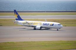 ふみたびさんが、中部国際空港で撮影したスカイマーク 737-8FHの航空フォト(飛行機 写真・画像)