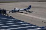 ふみたびさんが、中部国際空港で撮影したANAウイングス DHC-8-400の航空フォト(飛行機 写真・画像)
