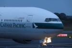 ま~くんさんが、成田国際空港で撮影したキャセイパシフィック航空 777-367の航空フォト(写真)