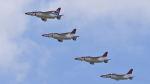 オキシドールさんが、芦屋基地で撮影した航空自衛隊 T-4の航空フォト(写真)