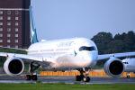 キットカットさんが、成田国際空港で撮影したキャセイパシフィック航空 A350-1041の航空フォト(写真)