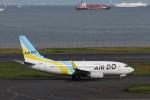 KAZFLYERさんが、羽田空港で撮影したAIR DO 737-781の航空フォト(飛行機 写真・画像)