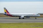 はやたいさんが、中部国際空港で撮影したアシアナ航空 A321-231の航空フォト(写真)