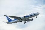 はやたいさんが、中部国際空港で撮影した全日空 777-281/ERの航空フォト(写真)