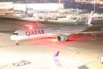クロマティさんが、羽田空港で撮影したカタール航空 A350-1041の航空フォト(写真)