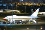 SGR RT 改さんが、羽田空港で撮影したオマーン・ロイヤル・フライト 747SP-27の航空フォト(写真)