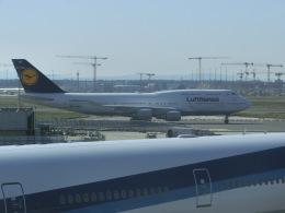 ヒロリンさんが、フランクフルト国際空港で撮影したルフトハンザドイツ航空 747-430の航空フォト(飛行機 写真・画像)