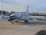 ヒロリンさんが、ドブロブニク空港で撮影したGama アビエーション 737-7GV BBJの航空フォト(写真)