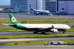 まいけるさんが、羽田空港で撮影したエバー航空 A330-302の航空フォト(写真)