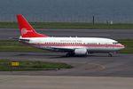 ヨルダンさんが、羽田空港で撮影したペルー空軍 737-528の航空フォト(写真)
