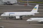 SFJ_capさんが、羽田空港で撮影したウクライナ政府 A319-115CJの航空フォト(写真)