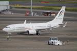 SFJ_capさんが、羽田空港で撮影したアラブ・ウイングス 737-7GJ BBJの航空フォト(写真)