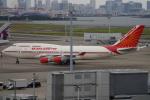 SFJ_capさんが、羽田空港で撮影したエア・インディア 747-437の航空フォト(写真)