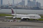 シュウさんが、羽田空港で撮影したカタールアミリフライト 747-8KB BBJの航空フォト(写真)