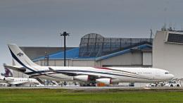 パンダさんが、成田国際空港で撮影したスワジランド政府 A340-313の航空フォト(飛行機 写真・画像)