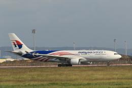 NH642さんが、台湾桃園国際空港で撮影したマレーシア航空 A330-223の航空フォト(飛行機 写真・画像)