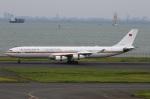 スポット110さんが、羽田空港で撮影したドイツ空軍 A340-313Xの航空フォト(写真)