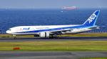 FlyingMonkeyさんが、羽田空港で撮影した全日空 777-281の航空フォト(写真)