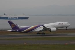 RAOUさんが、中部国際空港で撮影したタイ国際航空 A350-941XWBの航空フォト(写真)