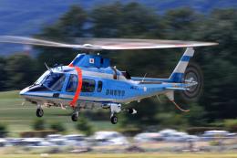 Assk5338さんが、松本空港で撮影した静岡県警察 A109E Powerの航空フォト(飛行機 写真・画像)
