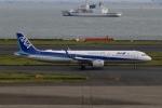 SIさんが、羽田空港で撮影した全日空 A321-272Nの航空フォト(写真)