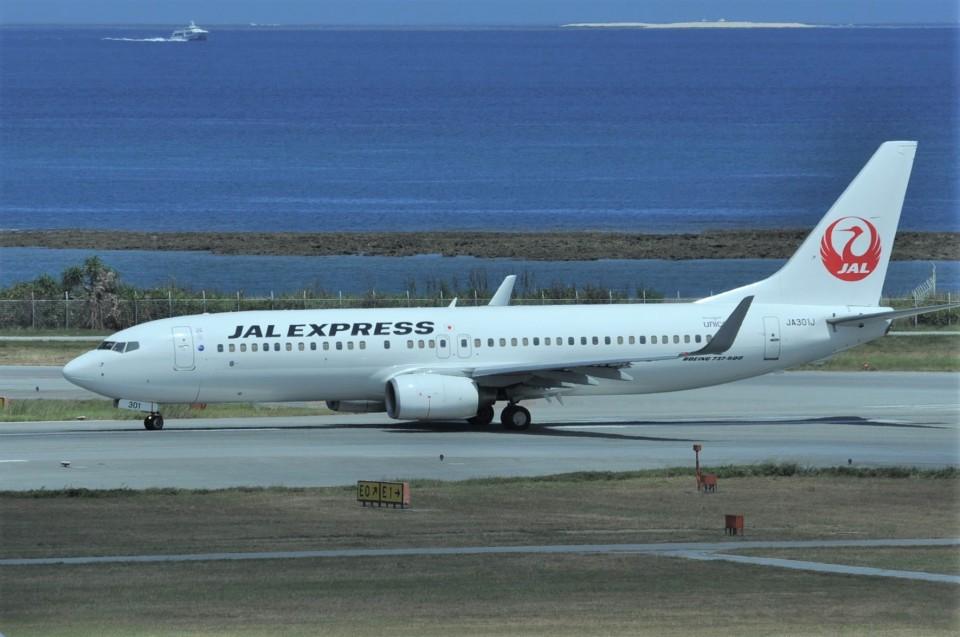 kumagorouさんのJALエクスプレス Boeing 737-800 (JA301J) 航空フォト