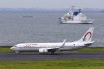 Yukipaさんが、羽田空港で撮影したモロッコ政府 737-8KB BBJ2の航空フォト(写真)
