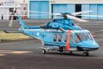 まんぼ しりうすさんが、東京ヘリポートで撮影した警視庁 AW139の航空フォト(写真)