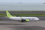 KAZFLYERさんが、羽田空港で撮影したソラシド エア 737-86Nの航空フォト(写真)